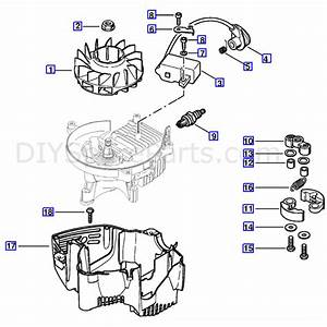 Stihl Hs 81 T Petrol Hedgetrimmer  Hs81t  Parts Diagram  Ignition System