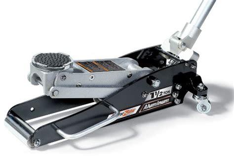 powerzone 380049 1 1 2 ton aluminum jack with retractable