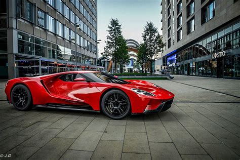 2017 Ford Gt In Red [1280x855] Hd Wallpaper From