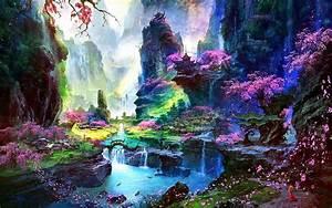 Amazing, Springtime, Landscape, Wallpapers, Hd, Desktop, And