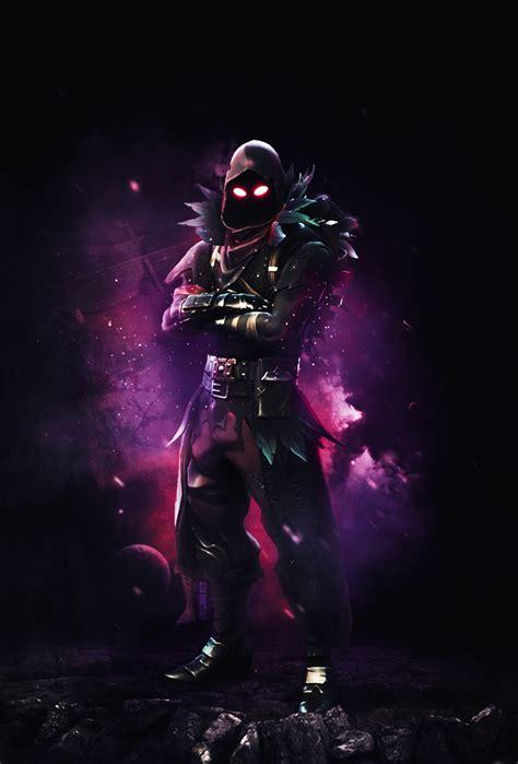 raven mobile wallpaper fortnitebr