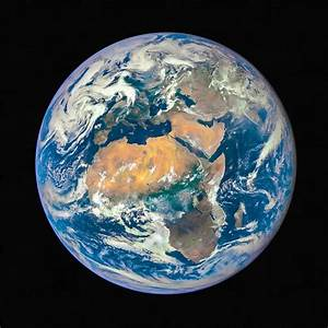 Planet Earth Seen From Space Photograph by Matthias Hauser