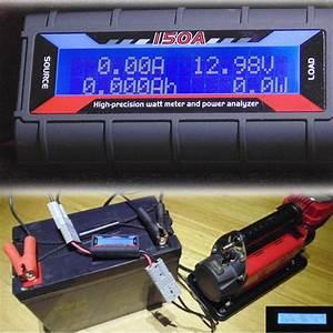 Buy 150a Watt Meter Power Analyzer Digital Lcd Solar Volt