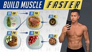 What To Eat To Build Muscle Faster  The Best Bulking Meal Plan