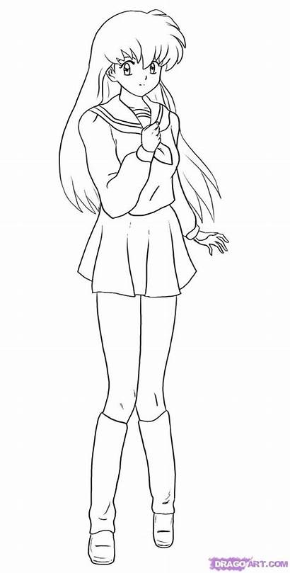 Coloring Pages Anime Printable Getcolorings