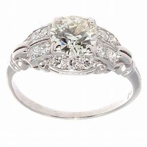 approximately 115 carat diamond platinum engagement ring With 15 carat wedding ring