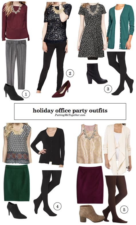 Putting Me Together Style Tips Holiday Office Party Outfits
