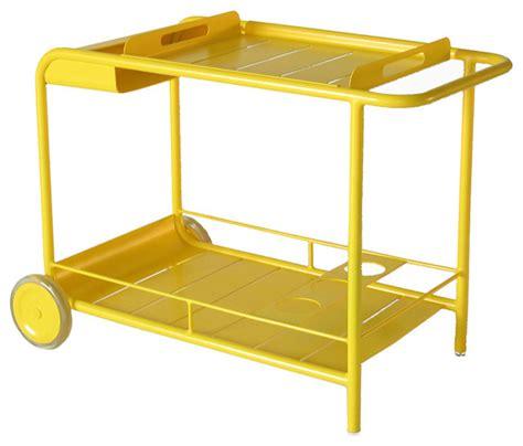 4164 bar with wheels by fermob modern bar carts by