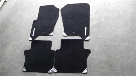 range rover sport carpet floor mat set black oem land