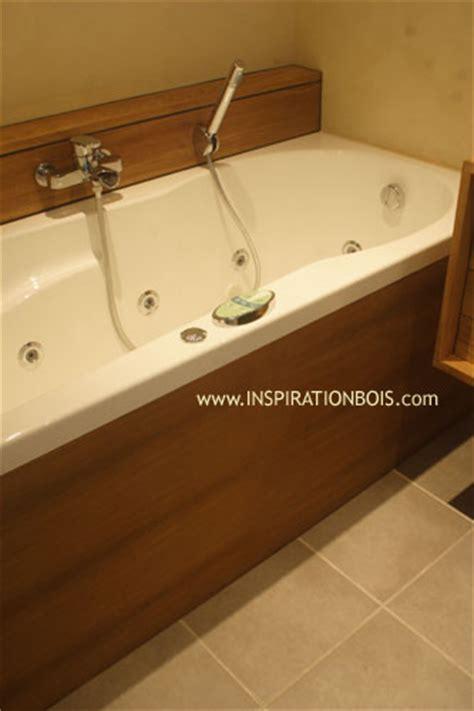 inspiration bureau habillage de baignoires et spas sur mesure en bois