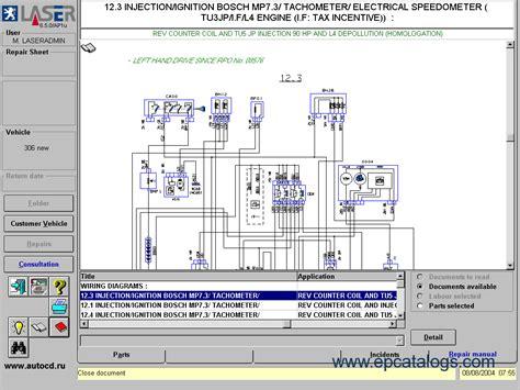 Peugeot 505 Wiring Diagram by Peugeot Laser