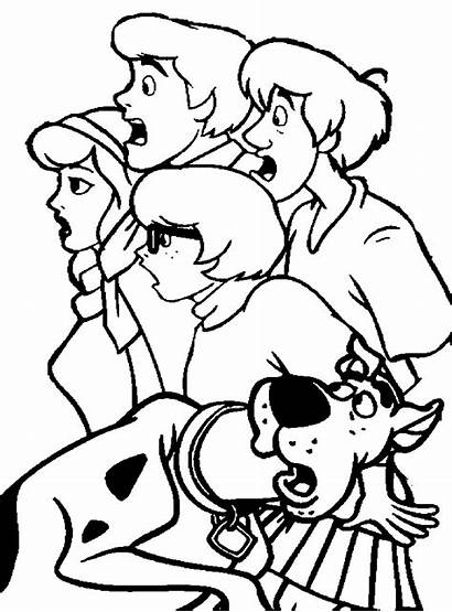 Scooby Doo Coloring Pages Printable Cartoons