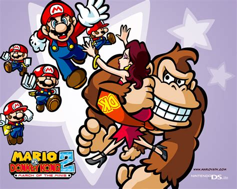 Tmk Downloads Images Wallpaper Mario Vs Donkey
