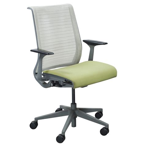 chaise steelcase steelcase think used task chair pistachio national