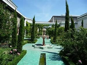 La cour d honneur et le jardin à l Andalouse de la Grande Mosquée de Paris Paris côté jardin