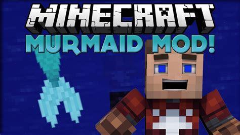Minecraft Mermaid Mod (minecraft Mod