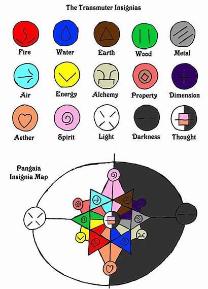 Deviantart Elemental Elements Magic Powers Symbols Element