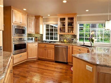 best kitchen paint colors with oak cabinets design