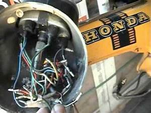 Honda St90 St 90 Ignition Switch Removal Information How