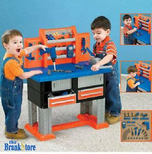 Children S Tool Bench Playset by Work Bench Workbench Tool Set Toddler Workshop