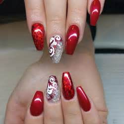 Pics photos nail art red
