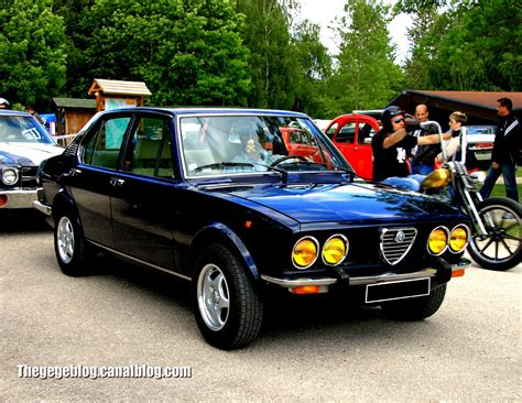 Alfa Romeo Berlina by Alfa Romeo Alfetta Berlina 1972 On Motoimg
