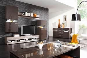 Wandgestaltung Ideen Wohnzimmer : wohnzimmer ideen wandgestaltung braun wohndesign ~ Yasmunasinghe.com Haus und Dekorationen
