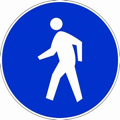 Sign Mandatory Road Indonesia Rg Svg 6b1