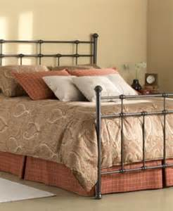 claremont hammered brown metal bed mattresses macy s