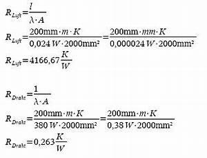 Wärmestrom Berechnen Formel : w rmeentwicklung im kupferleiter roboternetz forum seite 3 ~ Themetempest.com Abrechnung