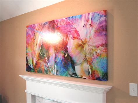 Abstrakte Kunst Leinwand by Abstract Flower Archives Cianelli Studios