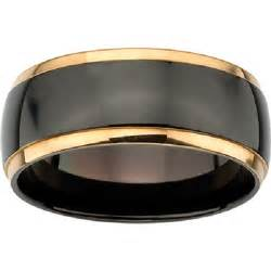 black gold mens wedding rings mens wedding ring black gold e4jewelry