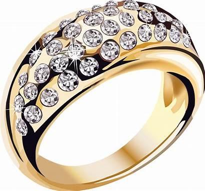 Ring Jewelry Clipart Transparent Diamonds Cartoon Rings