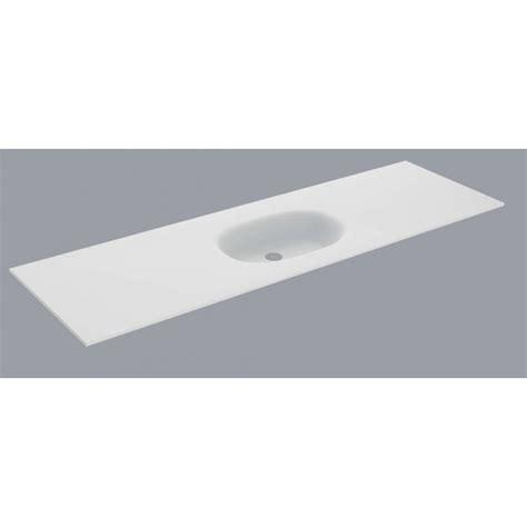evier cuisine 100 x 50 plan vasque blanc mat flow solid surface hidrobox vasque