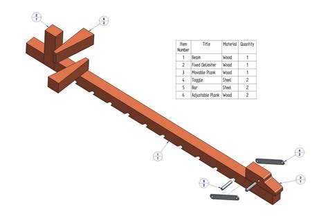 wooden bar clamp plan