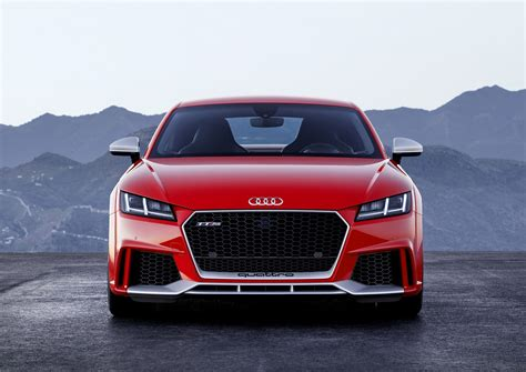 2018 Audi Tt Rs Is The Most Powerful Tt Ever  The Torque