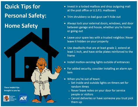 Crime Prevention Month Quick Tips  High Voltage Defense