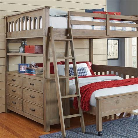 highlands loft bed full box