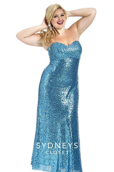sydneys closet sc7171 plus size sequin gown novelty