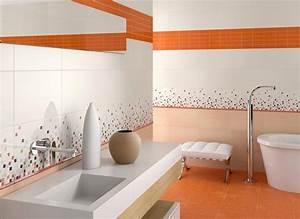 idees carrelage salle de bains en 26 photos fantastiques With carrelage salle de bain couleur