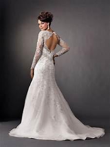 backless dresses long sleeve lace wedding gowns 2066098 With lace long sleeve wedding dresses