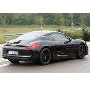 Porsches 2016 Cayman Facelift Scooped  Carscoops