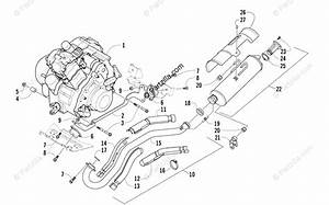 Arctic Cat Atv 2007 Oem Parts Diagram For Engine And