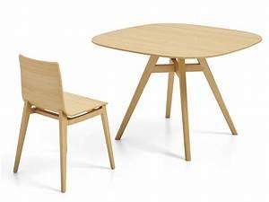 Table En Bois Carré : emma table table fixe infiniti en bois plateau carr disponible en diff rentes dimensions et ~ Teatrodelosmanantiales.com Idées de Décoration
