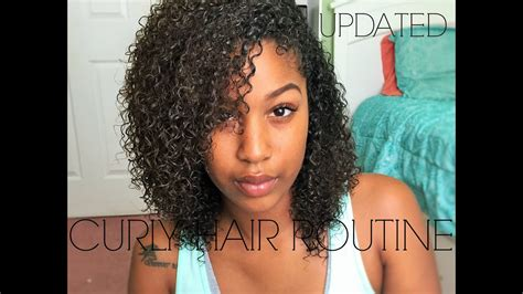 Updated Natural Curly Hair Routine !