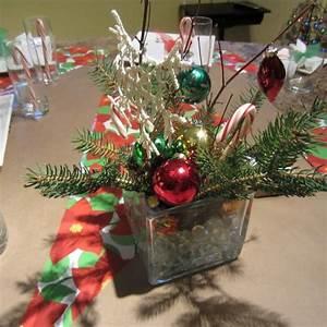 Faire Un Centre De Table Pour Noel