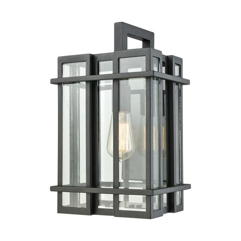 titan lighting glass tower medium 1 light matte black with