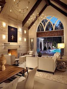 20 lavish living room designs with vaulted ceilings for Living room vaulted ceiling