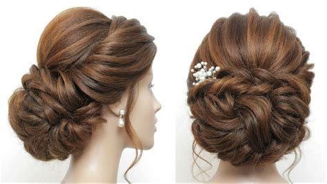 new low bun bridal hairstyle for hair wedding