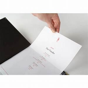 Protege Menu Restaurant : impression porte menu porte carte restaurant prot ge menu ~ Teatrodelosmanantiales.com Idées de Décoration